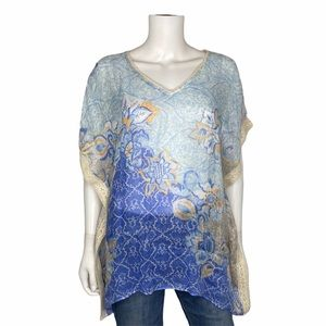 Chico's Blouse/Poncho Size S/M